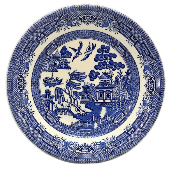 Churchill Blue Willow China Dessert Bowl