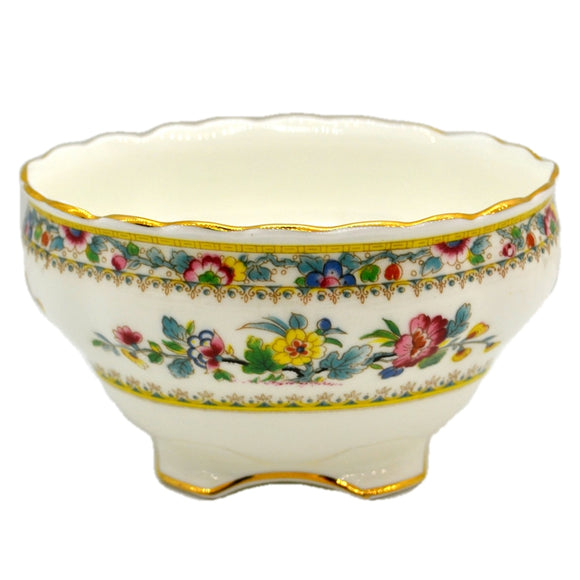 Coalport China Ming Rose Sugar Bowl