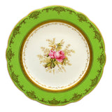 Set of 6 Coalport floral china caninet plates c1910