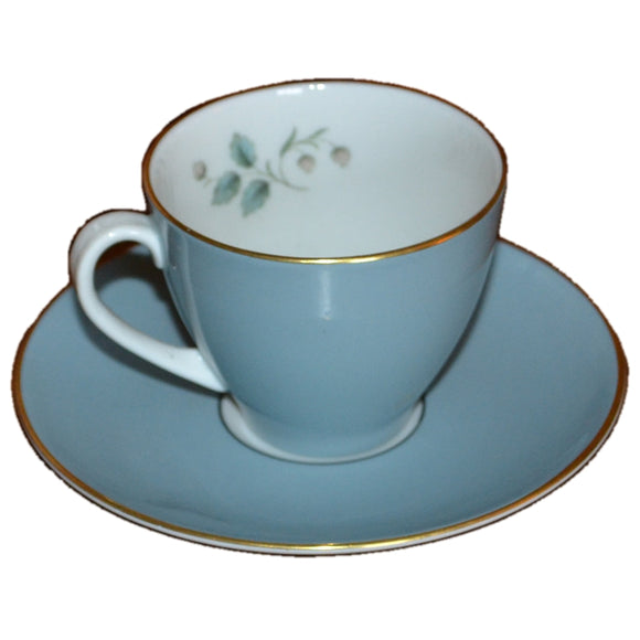 rose elegans royal doulton coffee cups