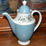 Royal Doulton Rose Elegans coffee pot