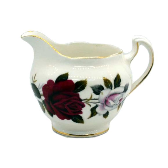 colclough china amoretta milk jug
