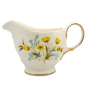 colclough china angela pattern milk jug