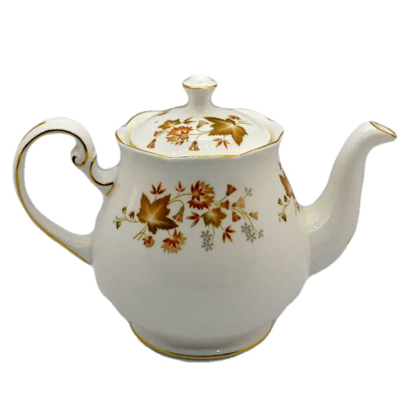 colclough avon teapot vintage china