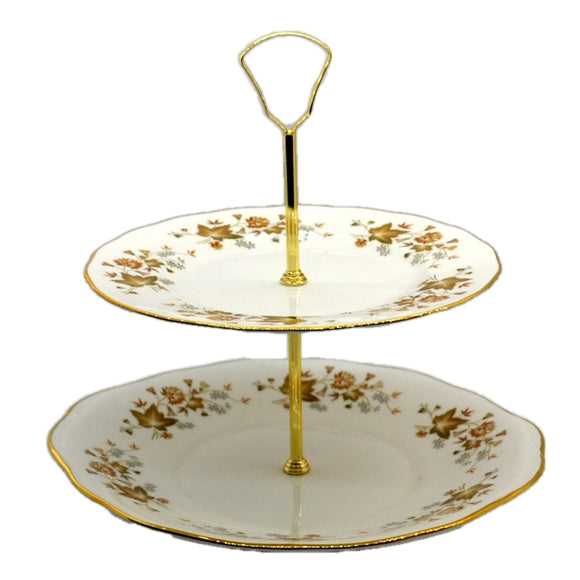 colclough bone china cake stand avon pattern 8656
