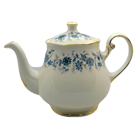 vintage Colclough Braganza teapot bone china