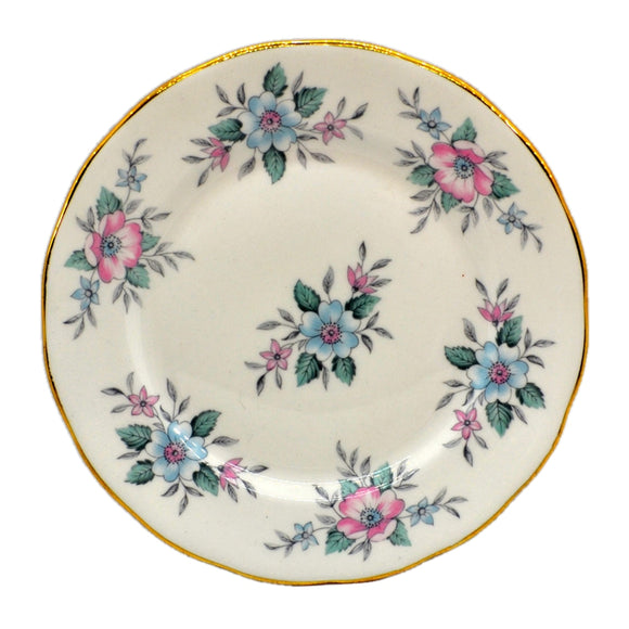 Colclough Bone China Copelia 6.25-inch Plates