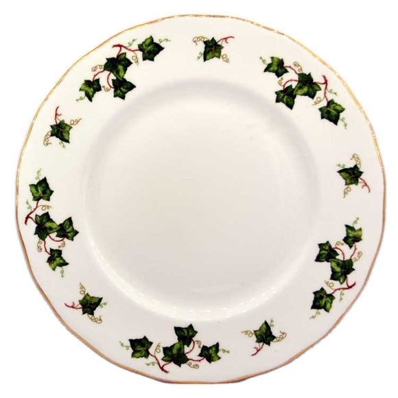 colclough ivy leaf china dinner plate