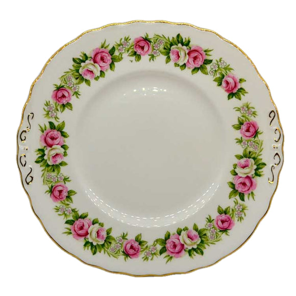 Colclough Enchantment cake plate
