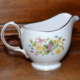 hedgerow china milk jug