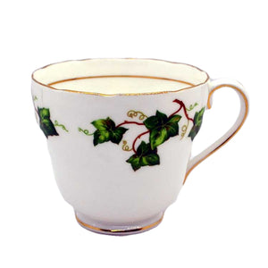 colclough ivy leaf china breakfast cup D shape
