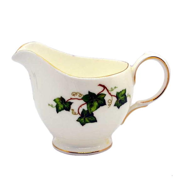 Colclough Ivy Leaf milk jug doulton period