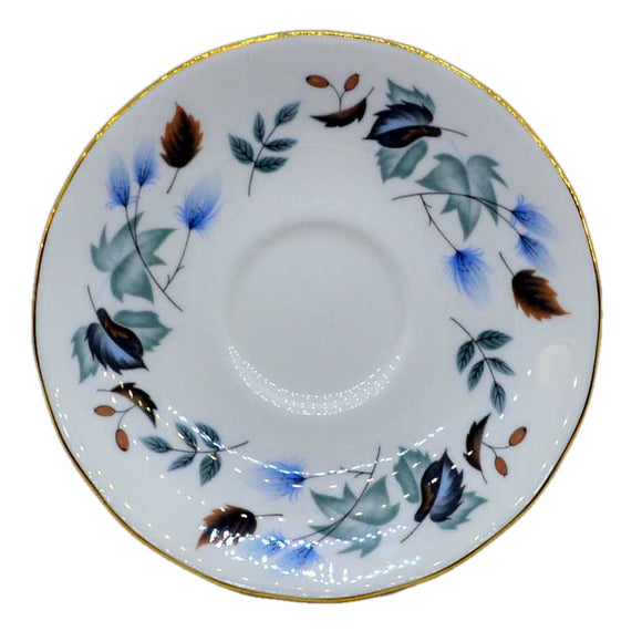 Colclough Linden 8162 Tea Cup Saucers