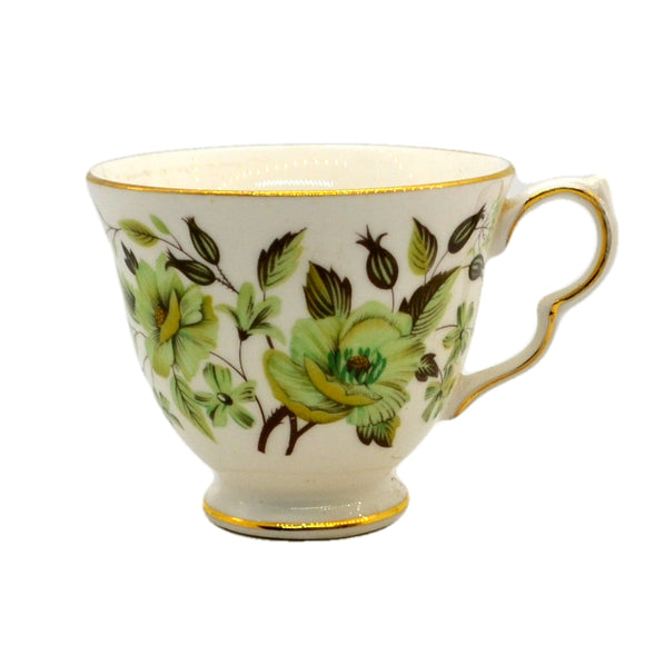 Colclough Sedgley 8648 China Tea Cups Shape C