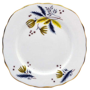 colclough stardust china side plates