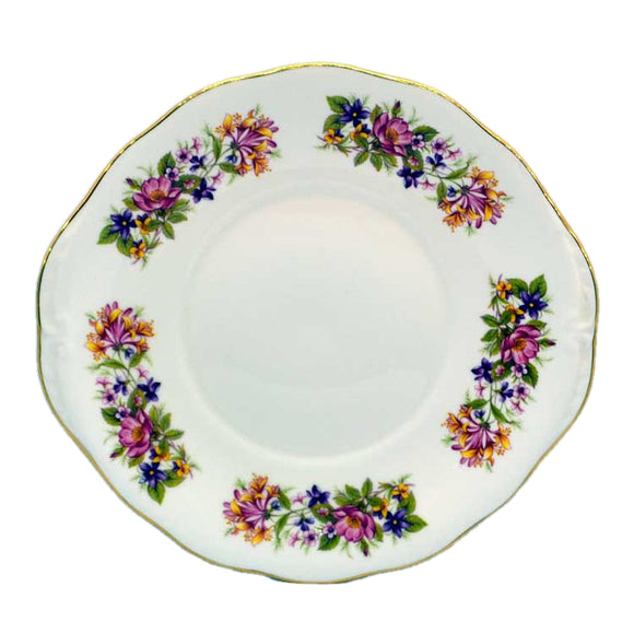 colclough wayside cake serving plate