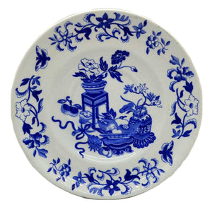 copeland spode blue bowpot china