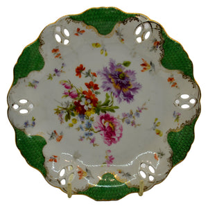 Cornflower antique china plates