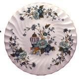 crown staffordshire cake stand kowloon pattern