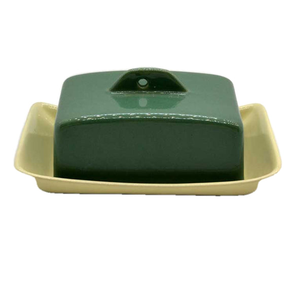 bourne denby manor green butter dish