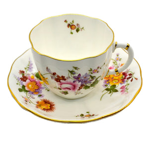 Royal Crown Derby Posies Teacup and Saucer