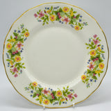 colclough hedgerow dessert plates
