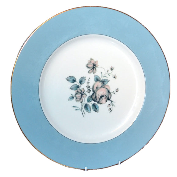 10.5 inch dinner plates royal doulton rose elegans