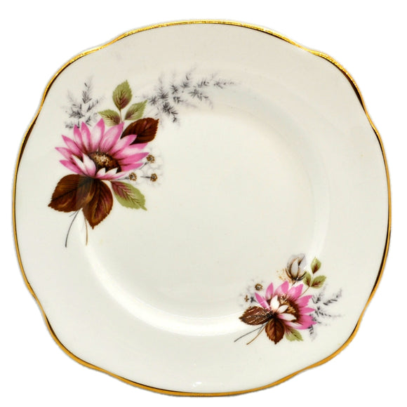 A T Finney & Sons Duchess China Pink Daisy Side Plate