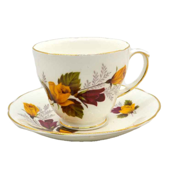 Duchess China 304 Roses Teacup & Saucer