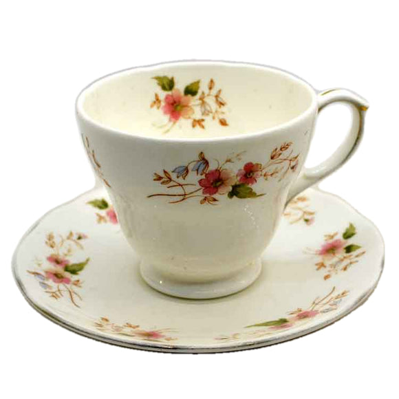 Duchess China 316 Glen Teacup & Saucer
