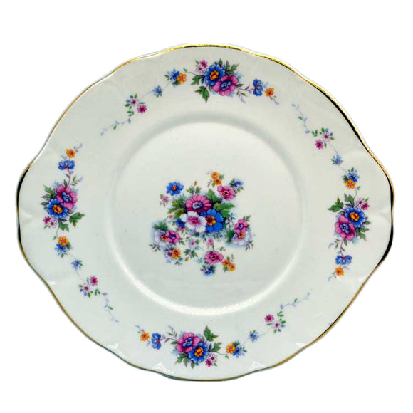 duchess bone china cake plate rosemary 573