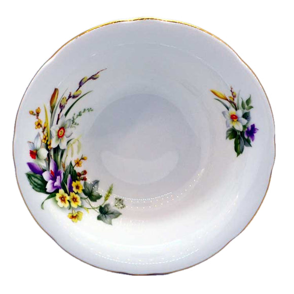 Duchess china spring dessert bowls