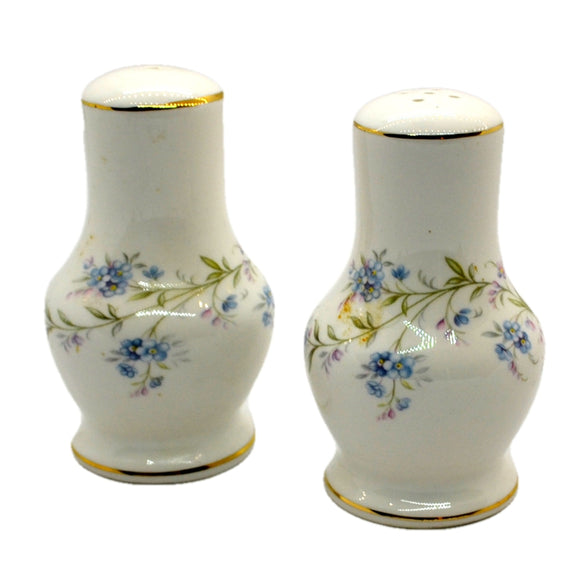 Duchess china salt and pepper set Tranquillity