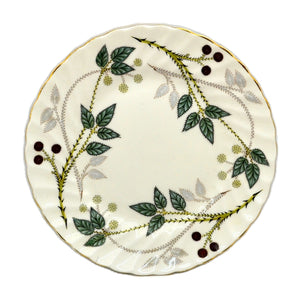 Elijah Bain Foley China Michaelmas Side Plate 1950-1963