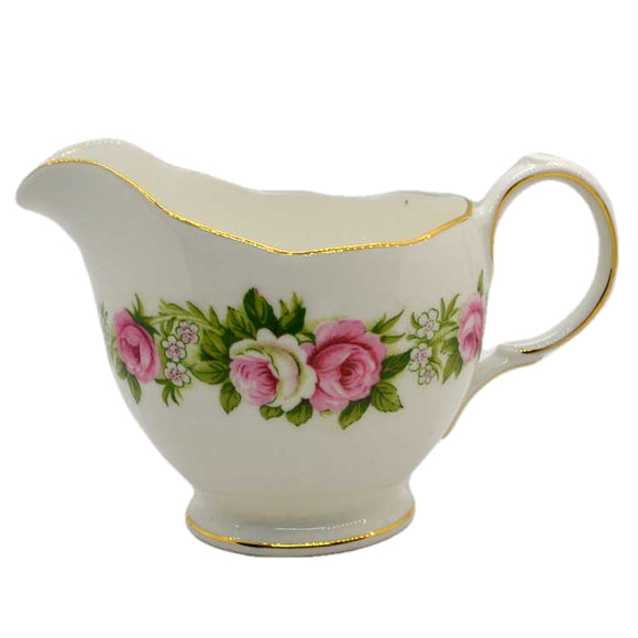 colclough enchantment milk jug china