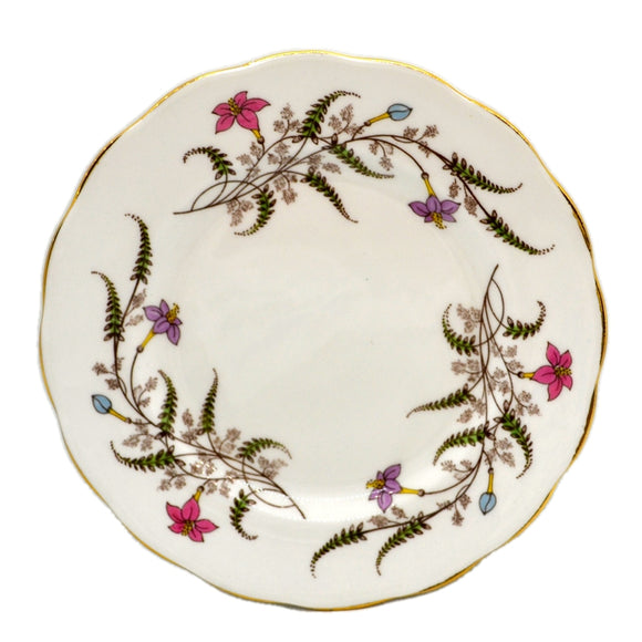 Royal Standard Bone China fancy Tree Side Plate