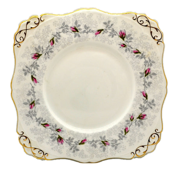 Tuscan Floral China Fashion Rose Serving Plate 1947 R H & S L Plant