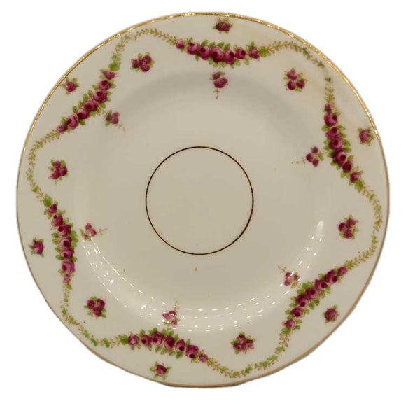Foley china antique floral china side plate