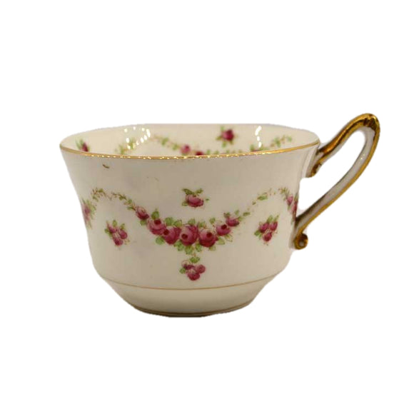 Foley floral china tea cup