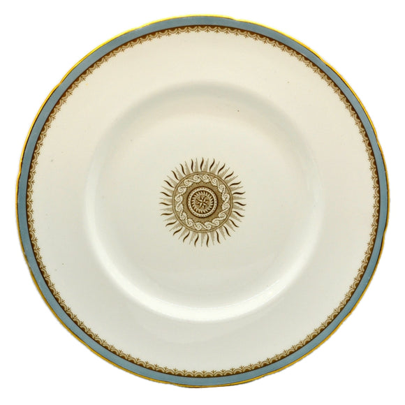 Elijah Bain Foley China Versaille 10.25 inch Dinner Plate 1948-1963