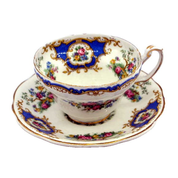 Foley China Broadway pattern tea cup and saucer