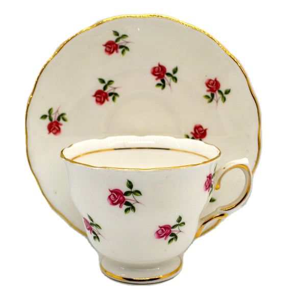 Colclough Fragrance Teacup and Saucer 7433