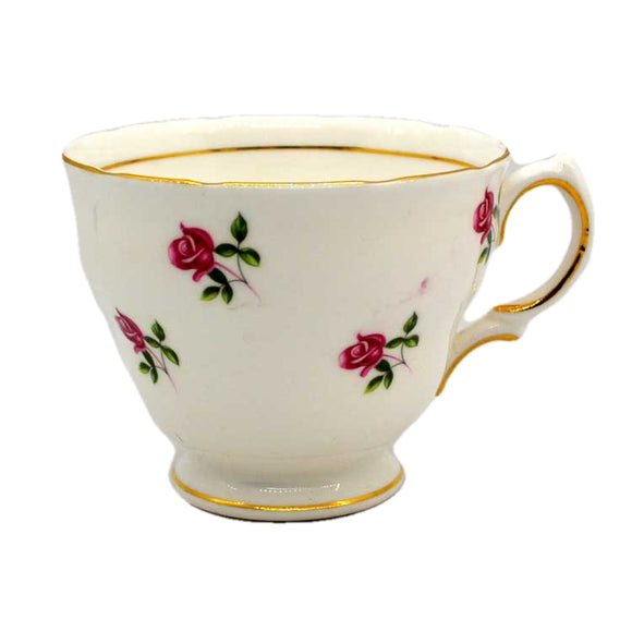 Colclough fragrance tea cup D shape scalloped rim