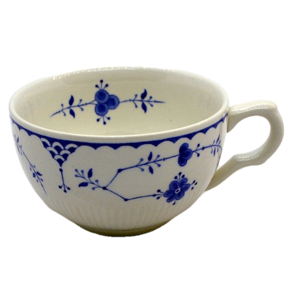 Furnivals Denmark Teacup Blue and White China