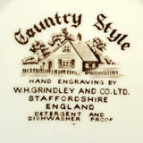 country style grindley china mark