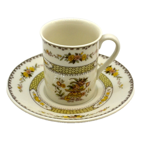 Royal Doulton China Hamilton TC1190 Demi Tasse Cups