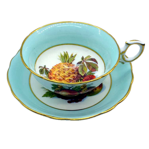 Hammersley and Co Pineapple fruits victorian style tea cup