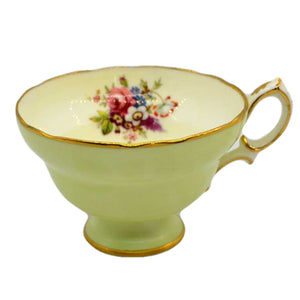 Hammersley & Co Jenners floral china tea cup