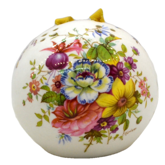 Hammersley Floral China Pot Pourri