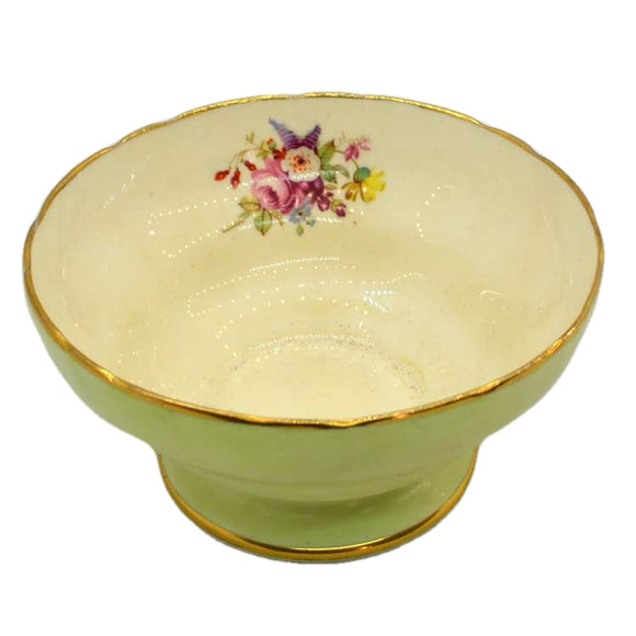 Hammersley & Co Jenners floral china sugar bowl